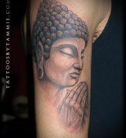 Фото тату Будда — 24052017 — пример — 060 Tattoo Buddha