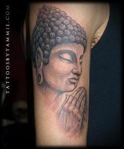 Фото тату Будда - 24052017 - пример - 060 Tattoo Buddha