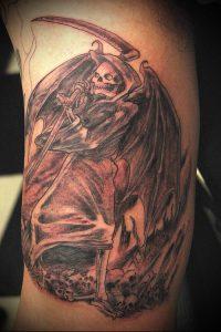 Фото тату Смерть (Death tattoo example) (значение) - пример рисунка - 004 tatufoto.com