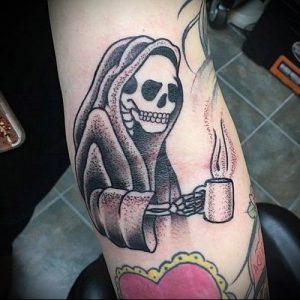 Фото тату Смерть (Death tattoo example) (значение) - пример рисунка - 014 tatufoto.com