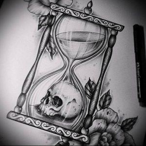 Фото тату Смерть (Death tattoo example) (значение) - пример рисунка - 016 tatufoto.com