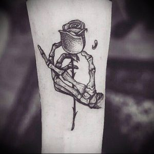 Фото тату Смерть (Death tattoo example) (значение) - пример рисунка - 018 tatufoto.com