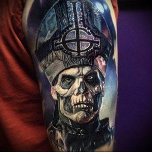 Фото тату Смерть (Death tattoo example) (значение) - пример рисунка - 020 tatufoto.com