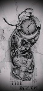 Фото тату Смерть (Death tattoo example) (значение) - пример рисунка - 022 tatufoto.com