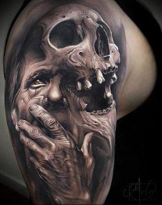 Фото тату Смерть (Death tattoo example) (значение) - пример рисунка - 028 tatufoto.com