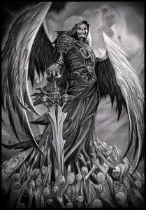 Фото тату Смерть (Death tattoo example) (значение) - пример рисунка - 029 tatufoto.com