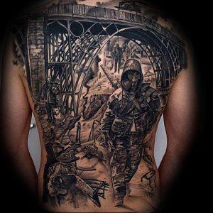 Фото тату Смерть (Death tattoo example) (значение) - пример рисунка - 033 tatufoto.com