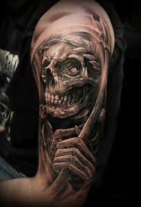 Фото тату Смерть (Death tattoo example) (значение) - пример рисунка - 039 tatufoto.com