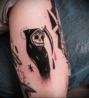Фото тату Смерть (Death tattoo example) (значение) — пример рисунка — 044 tatufoto.com