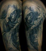 Фото тату Смерть (Death tattoo example) (значение) — пример рисунка — 049 tatufoto.com
