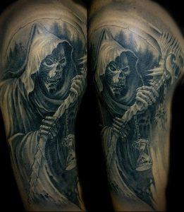 Фото тату Смерть (Death tattoo example) (значение) - пример рисунка - 049 tatufoto.com