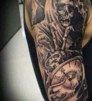 Фото тату Смерть (Death tattoo example) (значение) — пример рисунка — 050 tatufoto.com