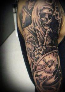 Фото тату Смерть (Death tattoo example) (значение) - пример рисунка - 050 tatufoto.com