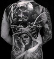 Фото тату Смерть (Death tattoo example) (значение) — пример рисунка — 052 tatufoto.com
