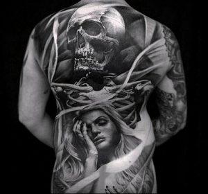 Фото тату Смерть (Death tattoo example) (значение) - пример рисунка - 052 tatufoto.com