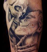 Фото тату Смерть (Death tattoo example) (значение) — пример рисунка — 055 tatufoto.com