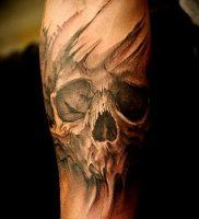 Фото тату Смерть (Death tattoo example) (значение) — пример рисунка — 058 tatufoto.com