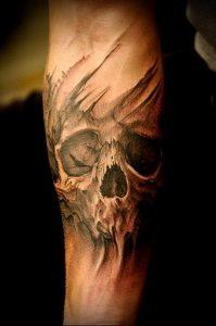 Фото тату Смерть (Death tattoo example) (значение) - пример рисунка - 058 tatufoto.com