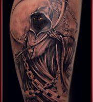 Фото тату Смерть (Death tattoo example) (значение) — пример рисунка — 060 tatufoto.com