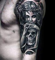 Фото тату Смерть (Death tattoo example) (значение) — пример рисунка — 062 tatufoto.com