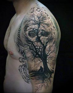 Фото тату Смерть (Death tattoo example) (значение) - пример рисунка - 066 tatufoto.com