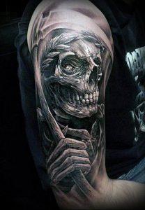 Фото тату Смерть (Death tattoo example) (значение) - пример рисунка - 068 tatufoto.com
