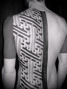 Фото тату лабиринт - пример - 29052017 - пример - 002 tattoo maze