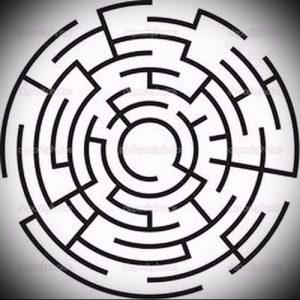 Фото тату лабиринт - пример - 29052017 - пример - 005 tattoo maze