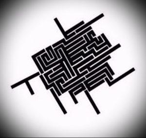 Фото тату лабиринт - пример - 29052017 - пример - 010 tattoo maze