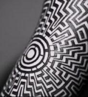 Фото тату лабиринт — пример — 29052017 — пример — 019 tattoo maze