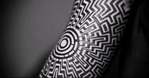 Фото тату лабиринт - пример - 29052017 - пример - 019 tattoo maze