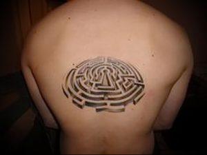 Фото тату лабиринт - пример - 29052017 - пример - 022 tattoo maze