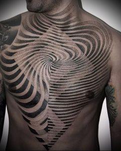 Фото тату лабиринт - пример - 29052017 - пример - 027 tattoo maze