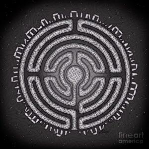 Фото тату лабиринт - пример - 29052017 - пример - 042 tattoo maze