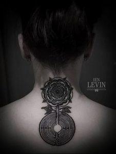 Фото тату лабиринт - пример - 29052017 - пример - 046 tattoo maze