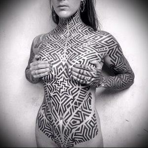 Фото тату лабиринт - пример - 29052017 - пример - 064 tattoo maze