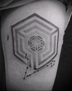 Фото тату лабиринт - пример - 29052017 - пример - 071 tattoo maze.edit_