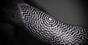 Фото тату лабиринт - пример - 29052017 - пример - 076 tattoo maze