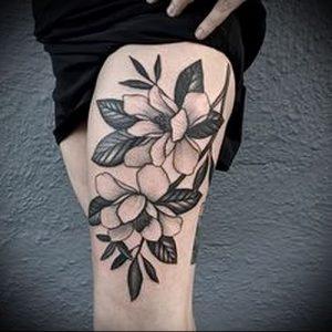 Фото тату магнолия - 30052017 - пример - 003 Magnolia tattoo
