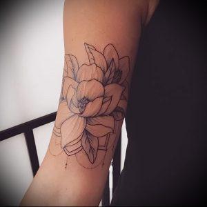 Фото тату магнолия - 30052017 - пример - 009 Magnolia tattoo