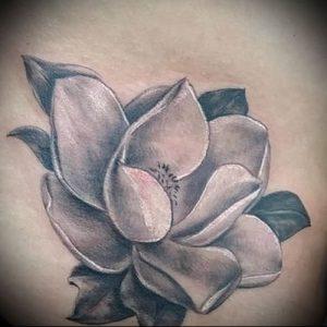 Фото тату магнолия - 30052017 - пример - 027 Magnolia tattoo