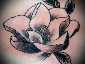 Фото тату магнолия - 30052017 - пример - 039 Magnolia tattoo