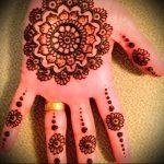 Фото Мехенди на ладони - 17062017 - пример - 001 Mehendi in the palm of your hand