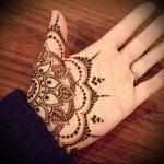 Фото Мехенди на ладони - 17062017 - пример - 002 Mehendi in the palm of your hand