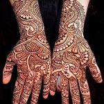 Фото Мехенди на ладони - 17062017 - пример - 004 Mehendi in the palm of your hand