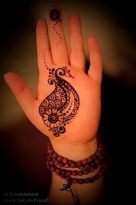 Фото Мехенди на ладони - 17062017 - пример - 005 Mehendi in the palm of your hand