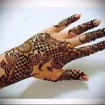 Фото Мехенди на ладони - 17062017 - пример - 008 Mehendi in the palm of your hand