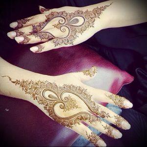 Фото Мехенди на ладони - 17062017 - пример - 009 Mehendi in the palm of your hand