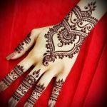 Фото Мехенди на ладони - 17062017 - пример - 010 Mehendi in the palm of your hand