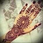 Фото Мехенди на ладони - 17062017 - пример - 011 Mehendi in the palm of your hand